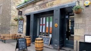 Edimbourg pub the black cat