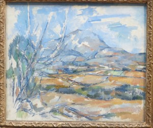 Cézanne - Montagne Ste Victoire