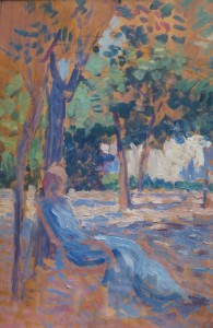 Maximilien Luce - Lucie Cousturier dans son Jardin