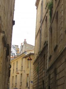 Bordeaux, centre-ville.