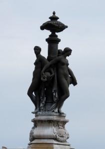 Fontaine, Place de la Bourse - Bordeaux