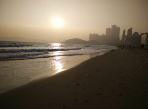 La plage de Daegu