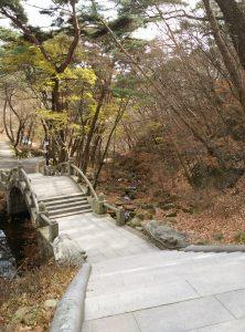 L'escalier du temple